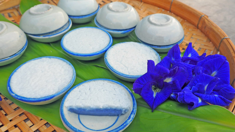 Thai Coconut Rice Custard Recipe | Kanom Tuay | ขนมถ้วย