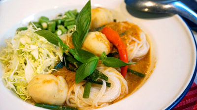Fish Curry Recipe: Kanom Jeen Namya (ขนมจีนน้ำยา)